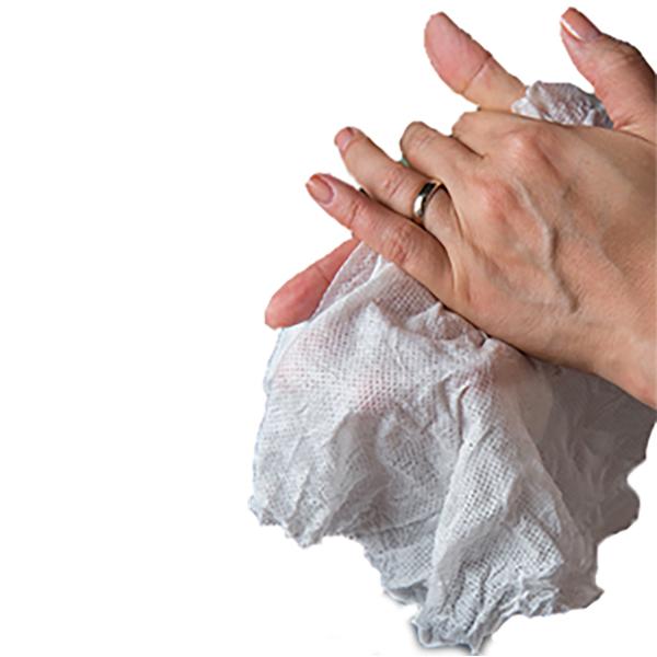 dezinfectare maini servetele comprimate